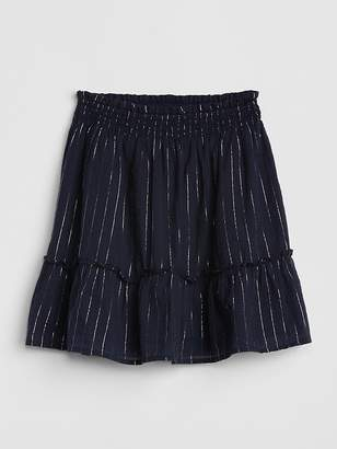 Gap Print Tiered Skirt