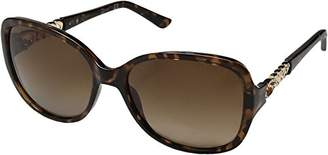 GUESS Women's Acetate Square Polarized Sunglasses