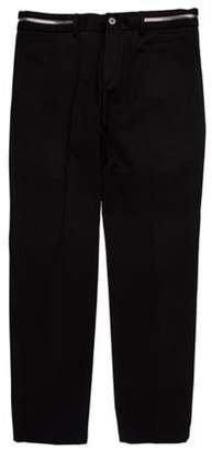 Givenchy Zip Accented Chinos black Zip Accented Chinos
