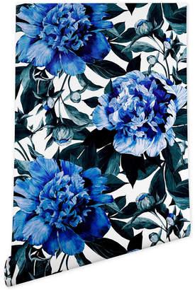 Deny Designs Marta Barragan Camarasa Indigo Floral Wallpaper