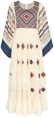 Vita Kin embroidered linen maxi dress