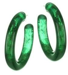Lizzie Fortunato Rome Chunky Hoop Earrings