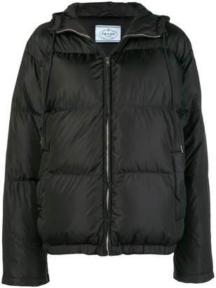 Prada classic puffer jacket