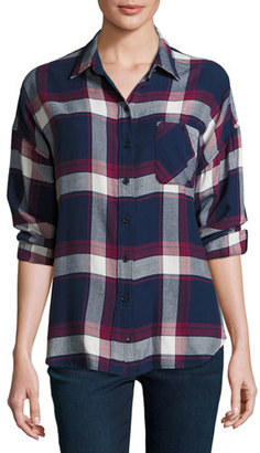 Rails Jackson Plaid Long-Sleeve Shirt, Multi $148 thestylecure.com