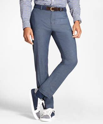Brooks Brothers Slim-Fit Stretch-Cotton End-On-End Pants