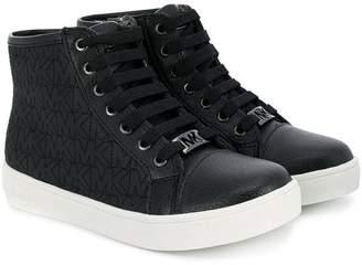 Michael Kors Kids Ivy Comfort hi-top sneakers