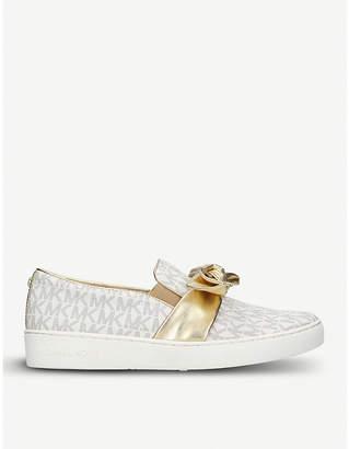 MICHAEL Michael Kors Willa monogram skate shoes