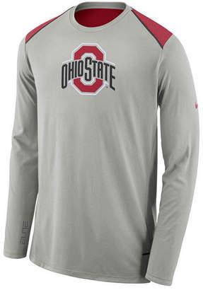 Nike Men's Ohio State Buckeyes Basketball Long Sleeve Shooter T-Shirt