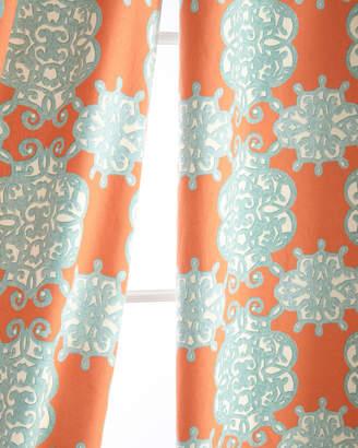 """Legacy Two 50""""W x 108""""L Jakarta Curtains"""