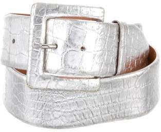 Ralph Lauren Alligator Hip Belt