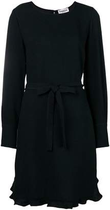 Essentiel Antwerp belted long-sleeve dress