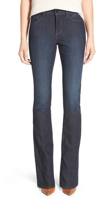 Women's Nydj 'Billie' Stretch Mini Bootcut Jeans $114 thestylecure.com