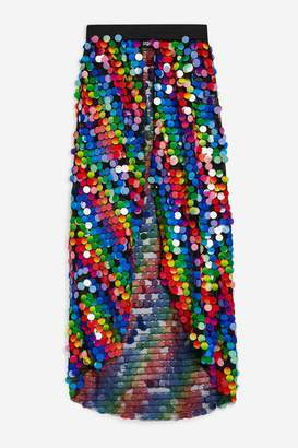 Jaded London **Rainbow Sequin Skirt by