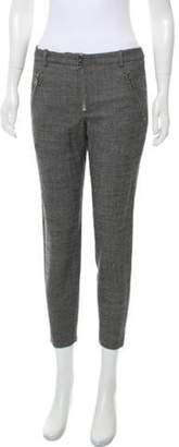 Alexander McQueen Wool-Blend Mid-Rise Pants w/ Tags Grey Wool-Blend Mid-Rise Pants w/ Tags
