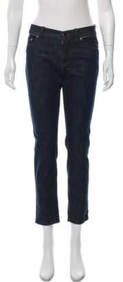 Loro Piana Mid-Rise Straight-Leg Jeans blue Mid-Rise Straight-Leg Jeans