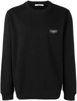 Givenchy logo patch sweatshirt