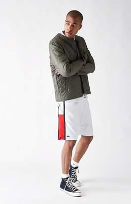 Lacoste Taffeta Diamond Active Drawstring Shorts