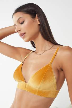 5c6eded23621f Out From Under Fusion Velvet Triangle Bra
