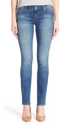Women's Mavi Jeans 'Kerry' Stretch Straight Leg Jeans $98 thestylecure.com