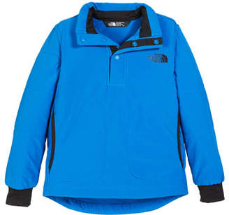 The North Face Snap Front Pullover Sweatshirt, Size XXS-XL
