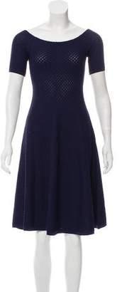 MICHAEL Michael Kors Elastic Knit A-Line Dress