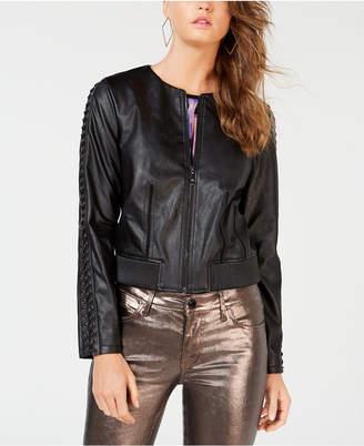 GUESS Aiken Faux-Leather Moto Jacket