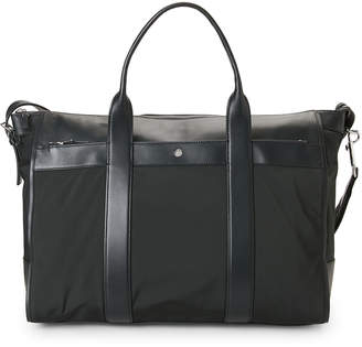 American Designer Emerald Fuel Canvas Nylon Tote