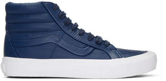 Vans Navy Stitch and Turn Sk8-Hi Reissue ST Sneakers