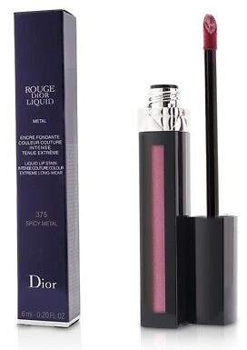 Christian Dior NEW Rouge Liquid Lip Stain (# 375 Spicy Metal (P) 6ml/0.2oz