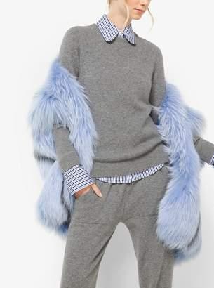 Michael Kors Cashmere Cropped Sweatpants