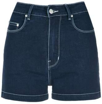 Amapô high waist denim shorts