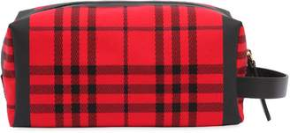Burberry Runway Ss18 Heritage Check Canvas Case
