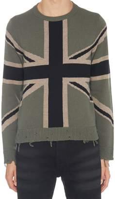 Valentino 'uk Flag' Sweater