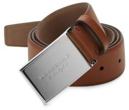 Burberry George Bridle Trench Leather Belt