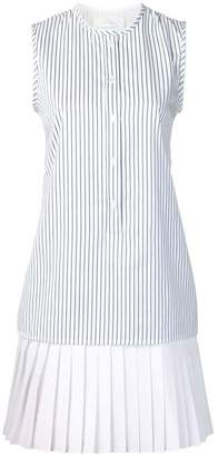 Victoria Victoria Beckham striped layered dress