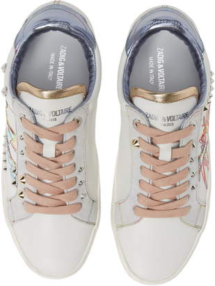 Zadig & Voltaire Tag Studded Sneaker