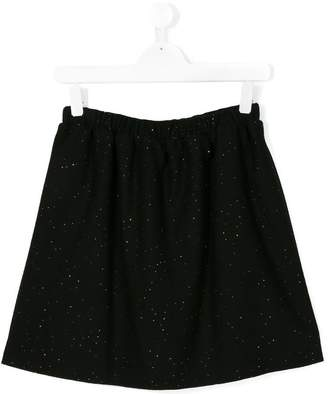 Douuod Kids sequin embroidered mini skirt