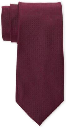 Calvin Klein Berry Square Solid Silk Tie