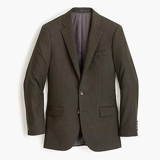 J.Crew Ludlow Slim-fit suit jacket in Italian herringbone flannel wool blend