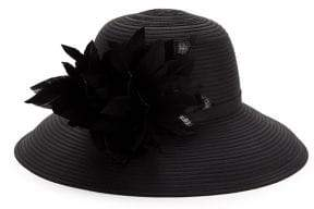 Giovannio Flower Wide-Brimmed Hat