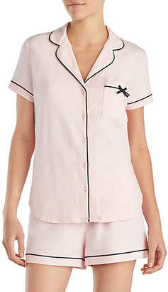 Kate Spade Two-Piece Bow Pyjama Set