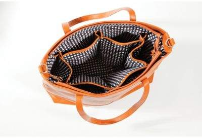 Bella TunnoTM Boss 5-in-1 Diaper Bag in Cognac 2