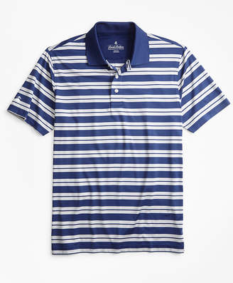 Brooks Brothers Performance Series Track Stripe Polo Shirt