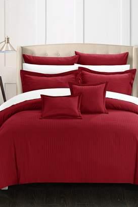 Kanya Comforter Set - Burgundy