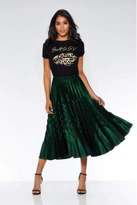 Next Womens Quiz Pleated Midi Skirt