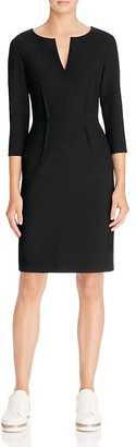 St. Emile Paris Split Neck Dress $595 thestylecure.com
