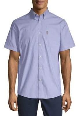 Ben Sherman Pinstripe Cotton Button-Down Shirt