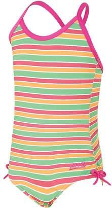 Zoggs Toddler Girls Bliss Stripe Paddle Back