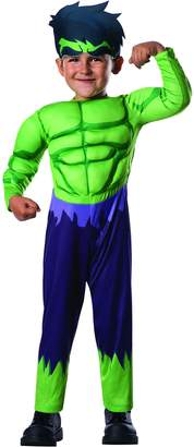 Rubie's Costume Co Costume (Canada) Baby Boy's Marvel Classics Avengers Assemble Muscle Chest Hulk