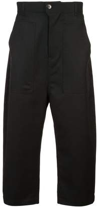 Julien David cropped work trousers